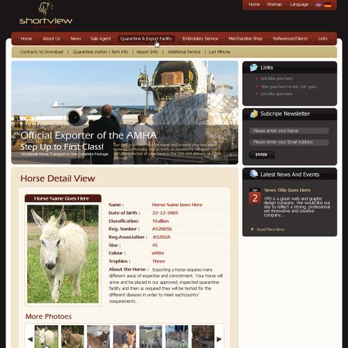 Diseño finalista de webmedia
