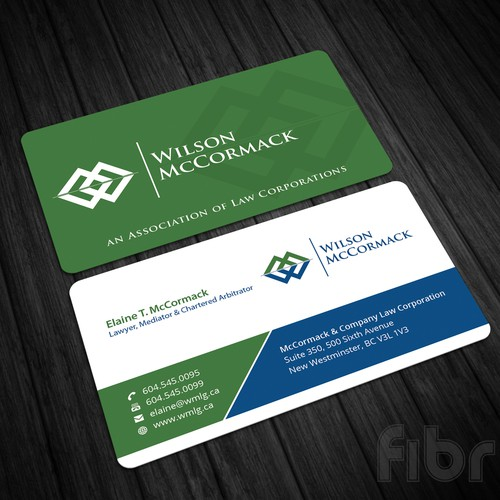New business cards business card contest runner up design by fibr colourmoves