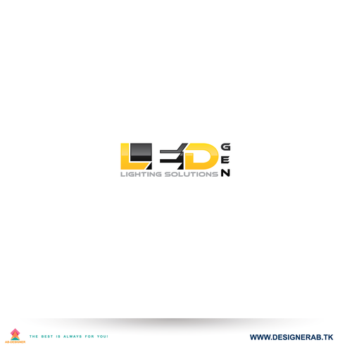 creative logo for led lighting products logo design contest