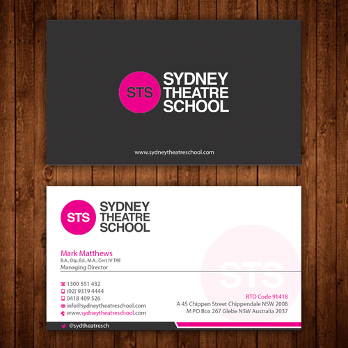 Business card for sts managing director business card contest entries from this contest colourmoves