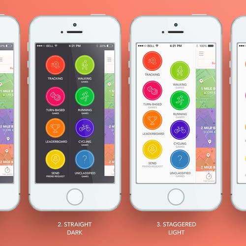 Runner-up design by CalmSpark App Design