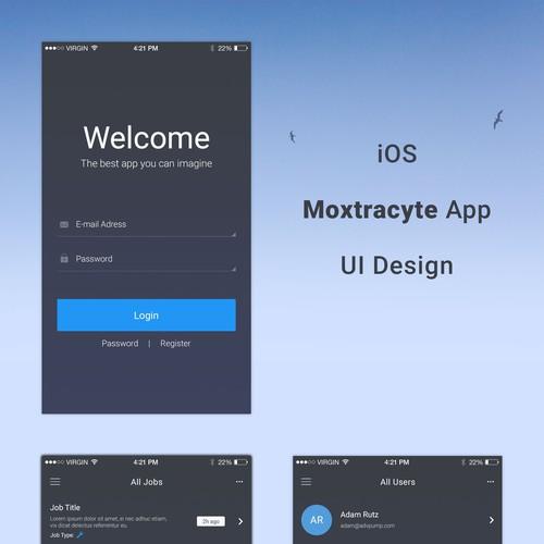 Runner-up design by WebVI