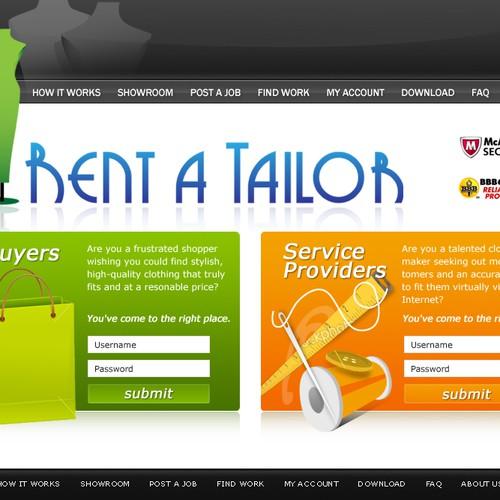 1 500 Web Mockup Pages Needs Fashion Designer Look Web Page Design Contest 99designs