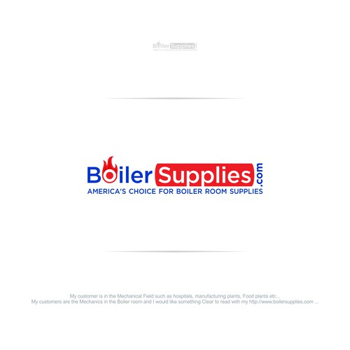 leading site in the Boiler industry needs strong logo !!! | Logo ...