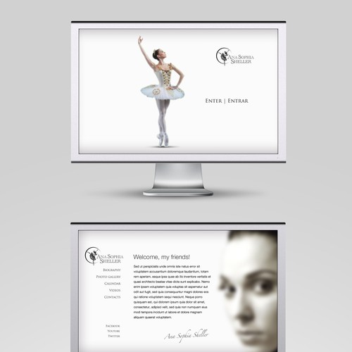 Runner-up design by Apxe