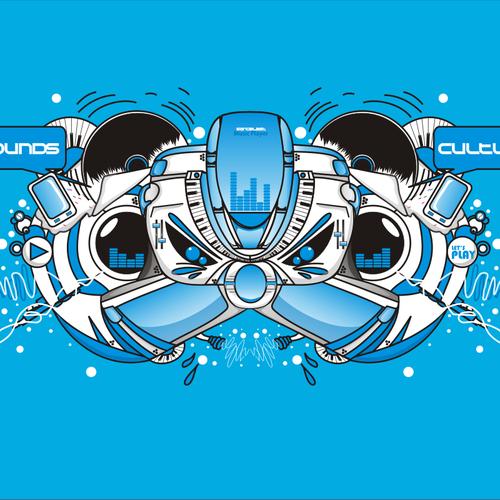 Runner-up design by Bima Zafwilayudha