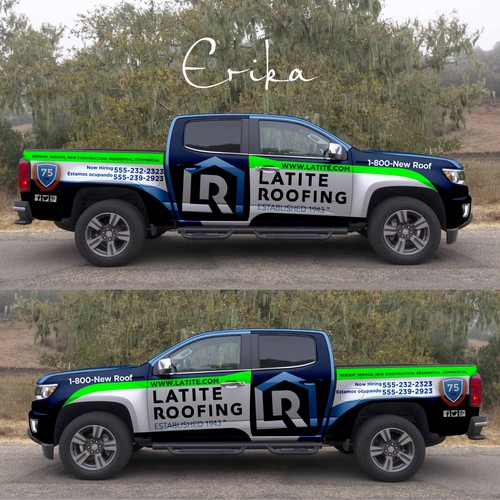 Help Design Eye Popping Truck Wrap For Professional