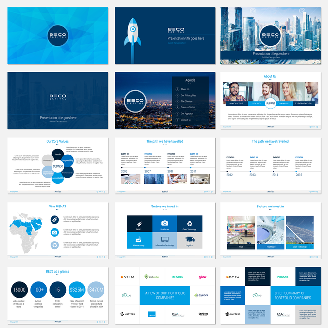 how to create a powerpoint presentation from a template