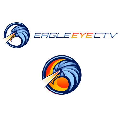 create a powerful logo for eagle eye cctv qld pty ltd ロゴデザイン