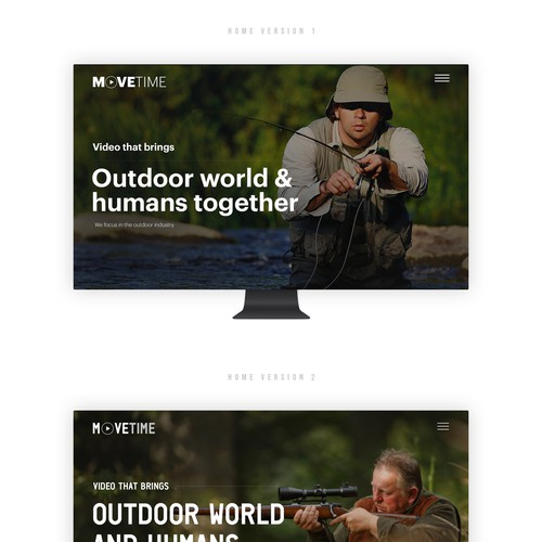 Video Production Company Website // Simplistic Design Design by Gendesign