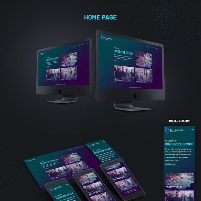 Diseño ganador de pixelwebplanet