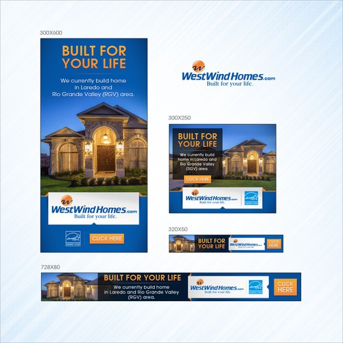 real estate web banners