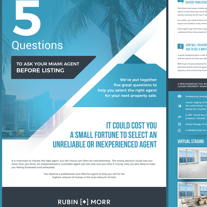 Create High End Brand 2 Page PDF :) ! | Postcard, flyer or