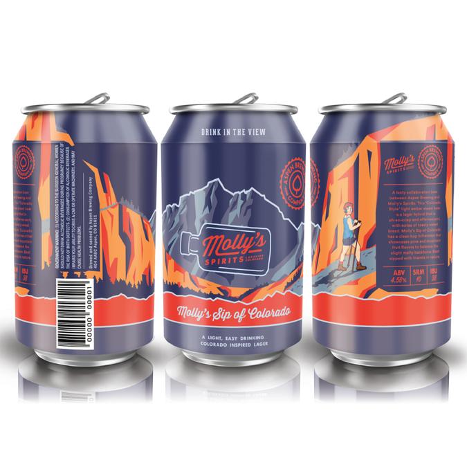 Craft Beer Can Design Aspen Brewing Co Molly S Spirits
