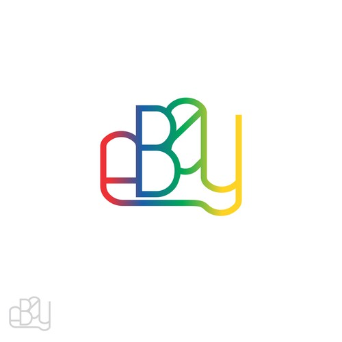 99designs community challenge: re-design eBay's lame new logo! Diseño de Alfonsus Thony