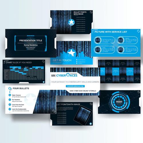 Zweitplatziertes Design von Powerpoint Studio