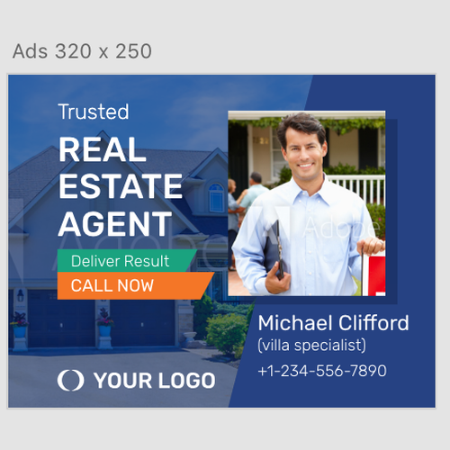 Banner Ad for Real Estate - Guaranteed Design by W Digital