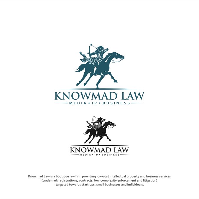 Law firm seeks horse archer | Logo design contest