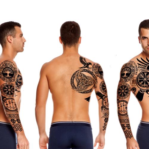 Germanische mythologie tattoos
