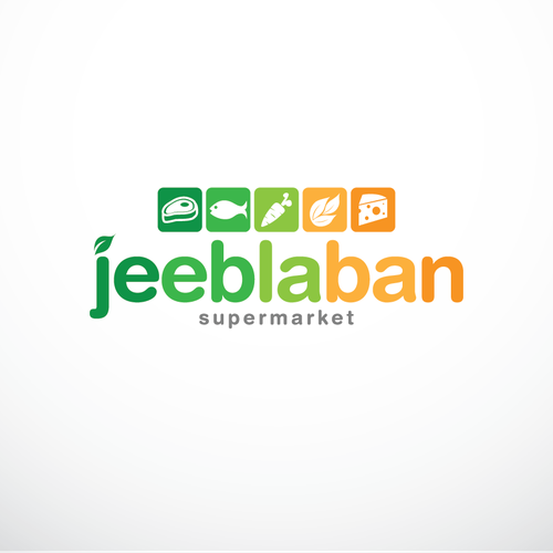 online supermarket logo design a chance to add a new