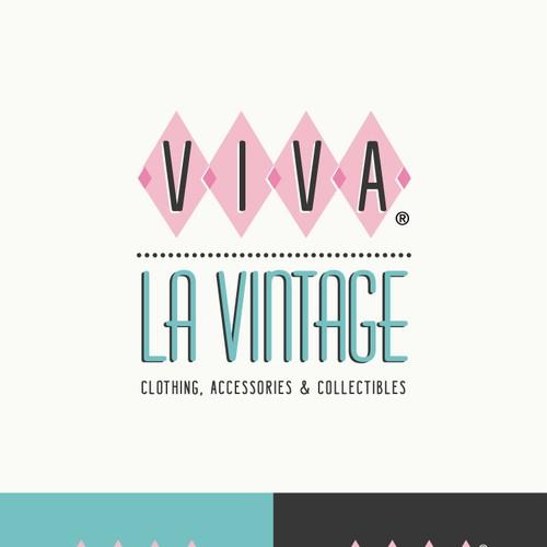 Update logo for Vintage clothing & collectibles retailer for Viva la Vintage Design by <floppy>