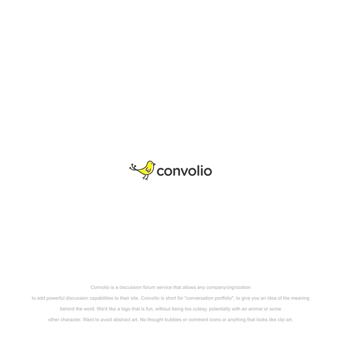 Design a logo for Convolio | Logo design contest