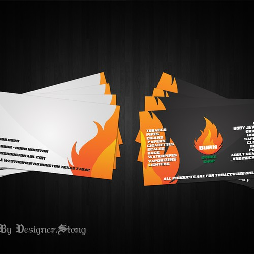 Runner-up design by stong
