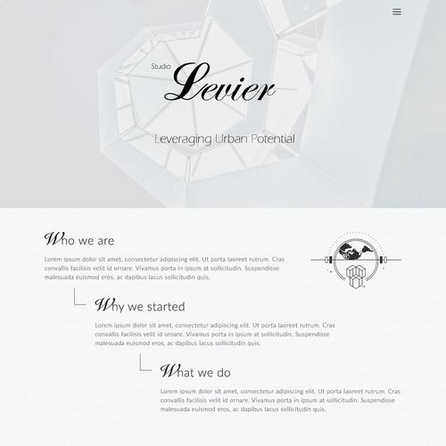 Runner-up design by Designtypw