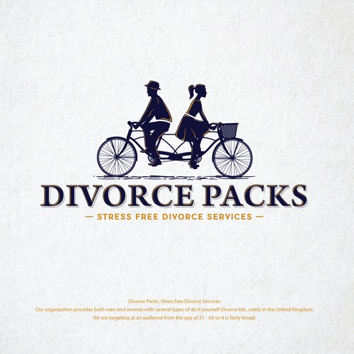 Divorce Logo  - UPDATED BRIEF, Ideally hand/computer drawn / Original Logo - Blind Filter Enabled Ontwerp door MarkoBo