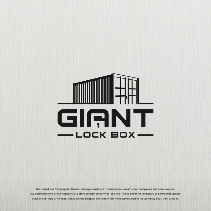 Industrial Logo Design Needed For A Shipping Container Company