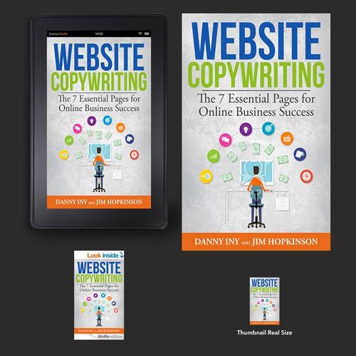 Kindle Book Cover Design : Website copywriting