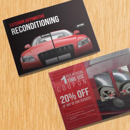 Create Unique Automotive Portfolio Booklet Of Our Services To The Public Brochure Contest 99designs