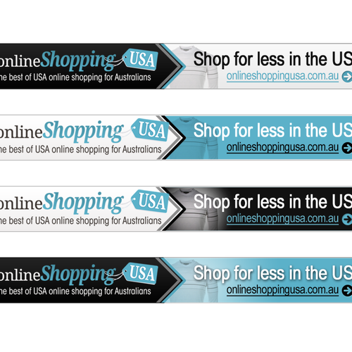 Online shopping usa needs a new banner ad banner ad contest for Best online shops usa