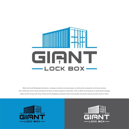 Industrial logo design needed for a shipping container for Best industrial design companies
