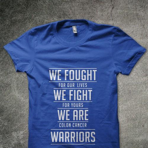 Undy Run Walk 5k Colon Cancer Survivor Shirt T Shirt Contest 99designs