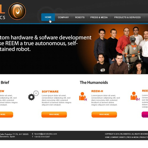 Meilleur design de Webnomica
