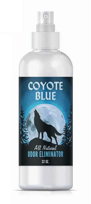 Coyote Blue...All Natural Odor Eliminator...Made In The