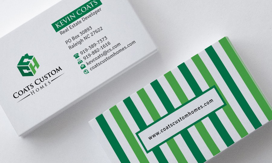 Create AMAZING Business Card for AMAZING Construction Company ...