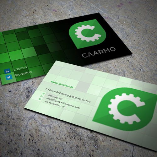 Need to build a eye catching business card business card contest runner up design by gak kuliah reheart Choice Image