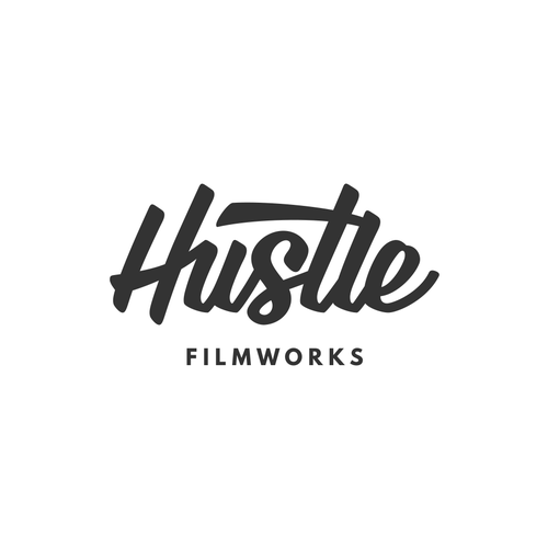 Bring your HUSTLE to my new filmmaking brands logo! Design by Frantic Disorder