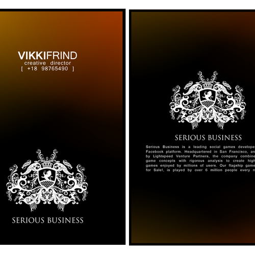 Runner-up design by vikkiFRIND