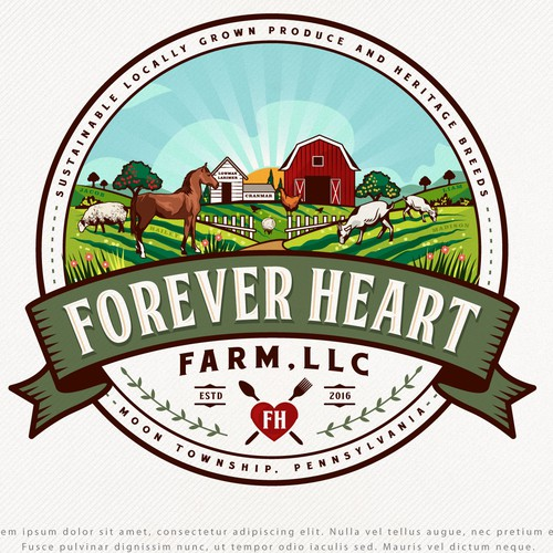 Small Organic Farm Needs Logo and Branding Design by Project 4