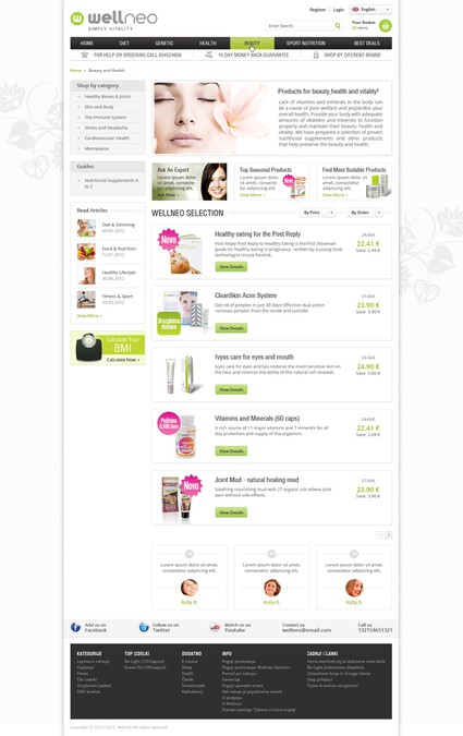 Winning design by DesignMyTemplate.com