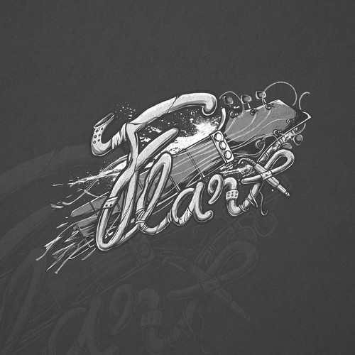 Rock band T-shirt design Design by Raidze