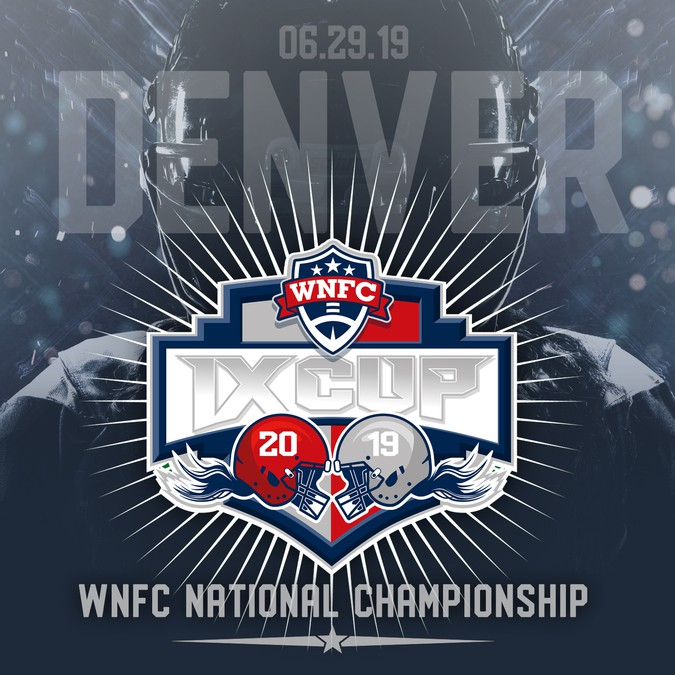 Women's Pro Football National Championship Graphic
