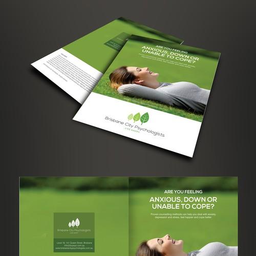 Make An Eye Catching Headboard: Create An Eye Catching Brochure For A Psychology Practice