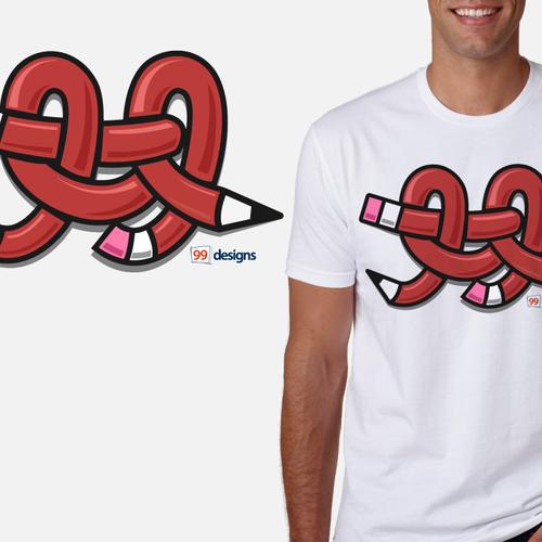 Create 99designs' Next Iconic Community T-shirt Design by 4TStudio