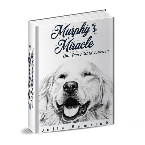 Book Cover For Murphy S Miracle A Lost Dog Story Book Cover Contest 99designs