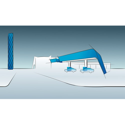 Runner-up design by Kapica Pawel