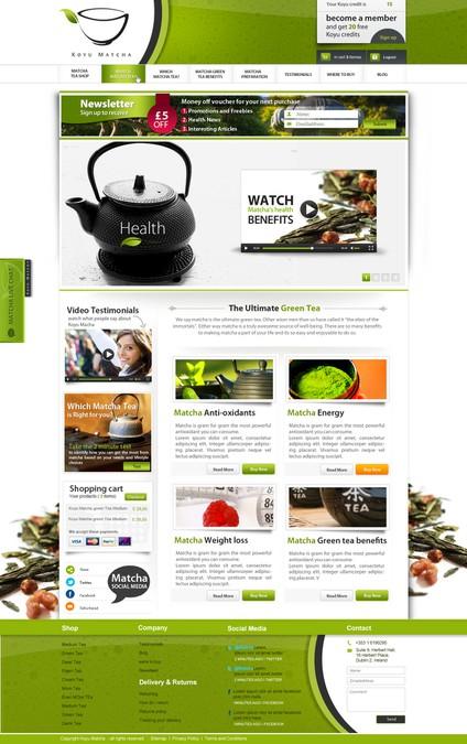 Winning design by Twebdesign